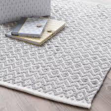 Einrichtung Teppich Wohnzimmer Teppich Aus Baumwolle Grau 60 X 90 Cm Tavira Flur Pinterest