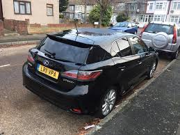 used lexus ct200h for sale in london 2011 11 lexus ct200h 1 8 hybrid automatic low miles fsh in