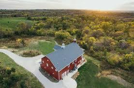 a lifetime love of barns inspires a new custom home silent