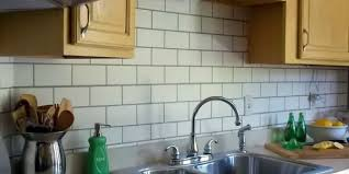 diy kitchen tile backsplash painted subway tile backsplash remodelaholic