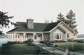 Home Plans With Porch Stone Cottage House Plans With Porches House Design Plans
