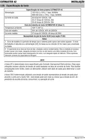 cutmaster manual de serviço sistema de corte plasma dc phase 40