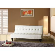 White Leather Tufted Sofa Living Room Tufted Futon Leather Futon Sofa Bed Leather