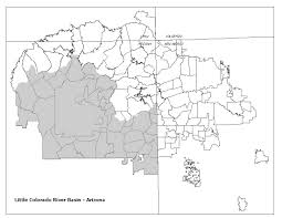 Arizona Rivers Map by My Website U003e Lower Basin Colorado River U003e Little Colorado River