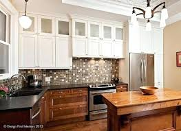 two tone kitchen cabinets trend two tone kitchen cabinets also two tone painted kitchen cabinets