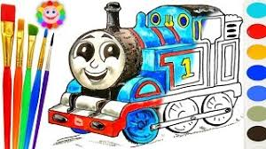 coloring thomas friends draw percy small tank