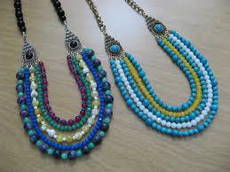 beaded necklace make images Tila beads bead yarn spatula jpg