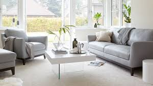 Two Seater Sofa Living Room Ideas 3 Seater Leather Sofa Living Room Furniture Uk Regarding Grey