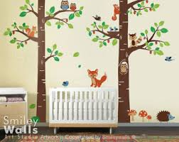 Animal Wall Decals For Nursery Wall Decal Wonderful Ideas Woodland Animal Wall Decals Woodland