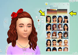 childs hairstyles sims 4 mod the sims hair bow freedom cats dogs child hair