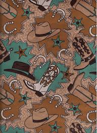 cowboy wrapping paper alexanderstadlercollection