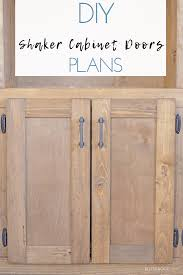 how to make simple shaker cabinet doors easy shaker cabinet doors shaker cabinet doors diy