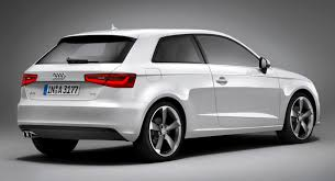 2013 audi a3 three door hatch leaked in all its production