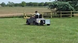 land rover wooden drover