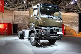 renault truck magnum new euro vi trucks of renault trucks defense enter in service with