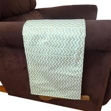 Armchair Remote Caddy Armchair Organizer Mint Metallic Chevron U2013 Milk And Sugar