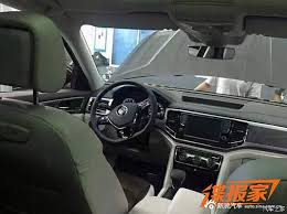 2018 volkswagen atlas interior official vw atlas germancarforum
