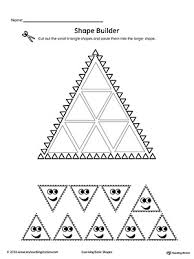 geometric shape builder worksheet triangle myteachingstation com