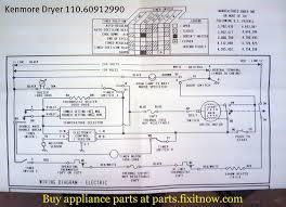 kenmore dryer 110 60912990 schematic fixitnow com samurai