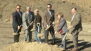 scvtv com city ceremonial shovels break ground on industrial
