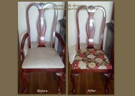enjoy life anyway diy recover your dining room chairs for under