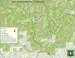 Big Sky Trail Map Trail Details Maps U2014 Mulberry Gap Mountain Bike Getaway