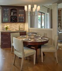 red house with contemporary design dining room traditional and san
