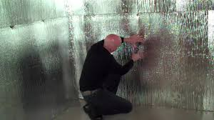 Insulating Basement Walls With Foam Board by Insulating Walls With Reflective Foil Bubble Insulation Youtube