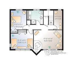 3 bedroom cabin floor plans house plan w2915 detail from drummondhouseplans com