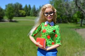 free photo barbie doll books glasses free image pixabay