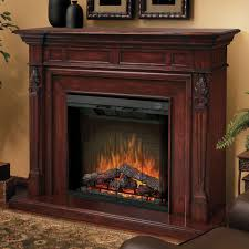 Electric Fireplace With Mantel Dimplex Torchiere Burnished Walnut Electric Fireplace Mantel