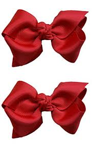 girl hair bows 3 inch boutique hair bow set by girl