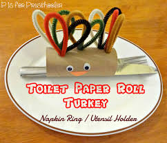 turkey napkin ring toilet paper roll turkey napkin ring utensil holder p is for