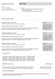 modern resume templates modern resume templates 64 examples free