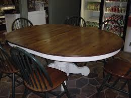 Oak Table L Pedestal Oak Dining Table Nurani Org