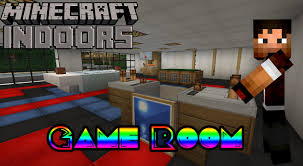 Minecraft Bedroom Ideas How To Build A Game Room Minecraft Indoors Interior Design Youtube