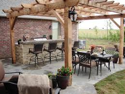patio kitchen ideas cheap outdoor kitchen ideas hgtv