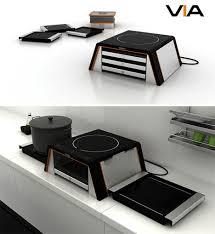 cuisine compacte design compact cooking 15 modular multipurpose kitchen designs urbanist