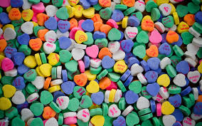valentines heart candy valentines candy free desktop wallpapers archive