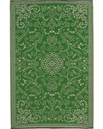 Outdoor Rug 6 X 9 Sale Fab Habitat Outdoor Rug 6 X 9 Murano Lime Green
