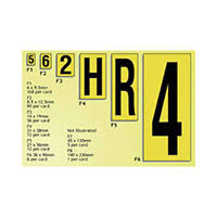 Aisle Markers High Visibility Aisle Markers Small Rapid Racking