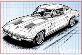 vintage corvette drawing 1963 4 seater corvette sting ray xp 796 acme hi performance