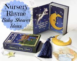 Nursery Rhymes Decorations Nursery Rhyme Baby Shower Ideas Aa Gifts Baskets Idea