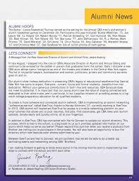 alumni network software cba 11 12 annual report by patti callahan issuu