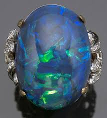 matrix opal ring opals on the block the jewelry loupe