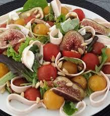 cuisine sucré salé salade sucrée salée poulet figues les meilleures recettes de