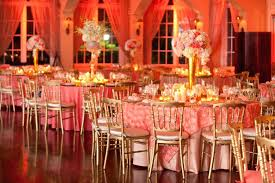 Red And Gold Reception Decoration Gold And Orange Wedding Decor Red And Gold Wedding Decoration