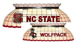 nc state pool table light north carolina state wolfpack stained glass pool table l