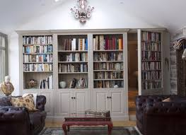 Secret Door Bookcase Hidden Door Family Room Traditional With Built In Bookcase Library