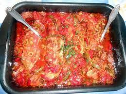 cuisiner le tendron de veau recette de tendrons de veau au poivrons et olives